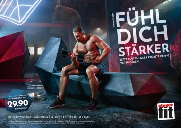"Clever Fit | ""Fühl Dich stärker"" Campaign"